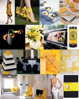 Inspiration, yellow, black, Board