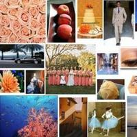 Inspiration, blue, Peach, Board