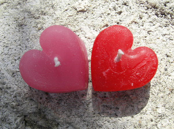 Favors & Gifts, pink, red, Favors, Wedding, Custom, Candle, Mini, Fire, Love, Cute, Hearts, Passion, Scented, Kokocandles