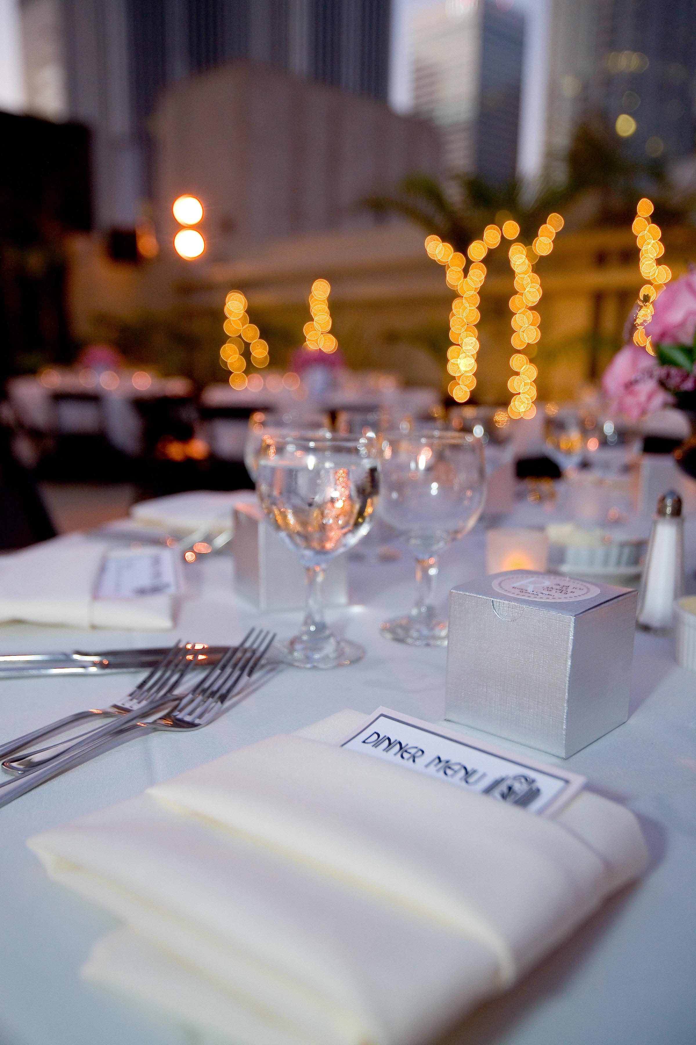 DIY, Reception, Flowers & Decor, Centerpieces, Centerpiece, Menu, Tabletop, Tealight weddings events