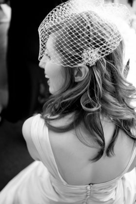 Ceremony, Flowers & Decor, Veils, Fashion, Veil, Birdcage veil, Tealight weddings events