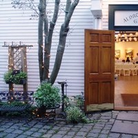 Reception, Flowers & Decor, Fall, Courtyard, Rockport art association