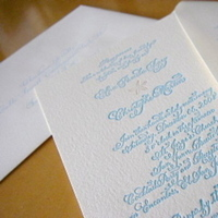 Calligraphy, Stationery, Invitations, Laura hooper calligraphy, Letterpress