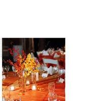 Flowers & Decor, orange, Centerpieces, Flowers, Centerpiece