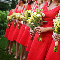 Flowers & Decor, Wedding Dresses, Fashion, yellow, orange, dress, Flowers, Wedding, Ulysses photography, Flower Wedding Dresses
