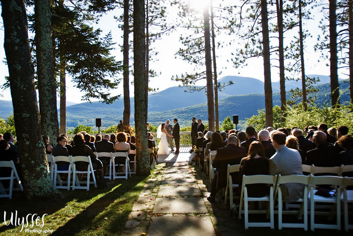 Ceremony, Flowers & Decor, Rustic, Outdoor, Rustic Wedding Flowers & Decor, Wedding, Elegant, Ulysses photography