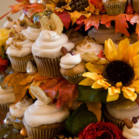Flowers & Decor, Cakes, cake, Flower, Cupcake