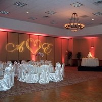 Flowers & Decor, orange, Lighting, Tables & Seating, Centerpiece, Wedding, Weddings, Gobo, California, Tables, County, Los, Angeles, Pinspot, Uplighting, Led, Golden sounds entertainment