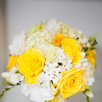 Flowers & Decor, white, yellow, Bride Bouquets, Flowers, Roses, Bouquet, Fresia