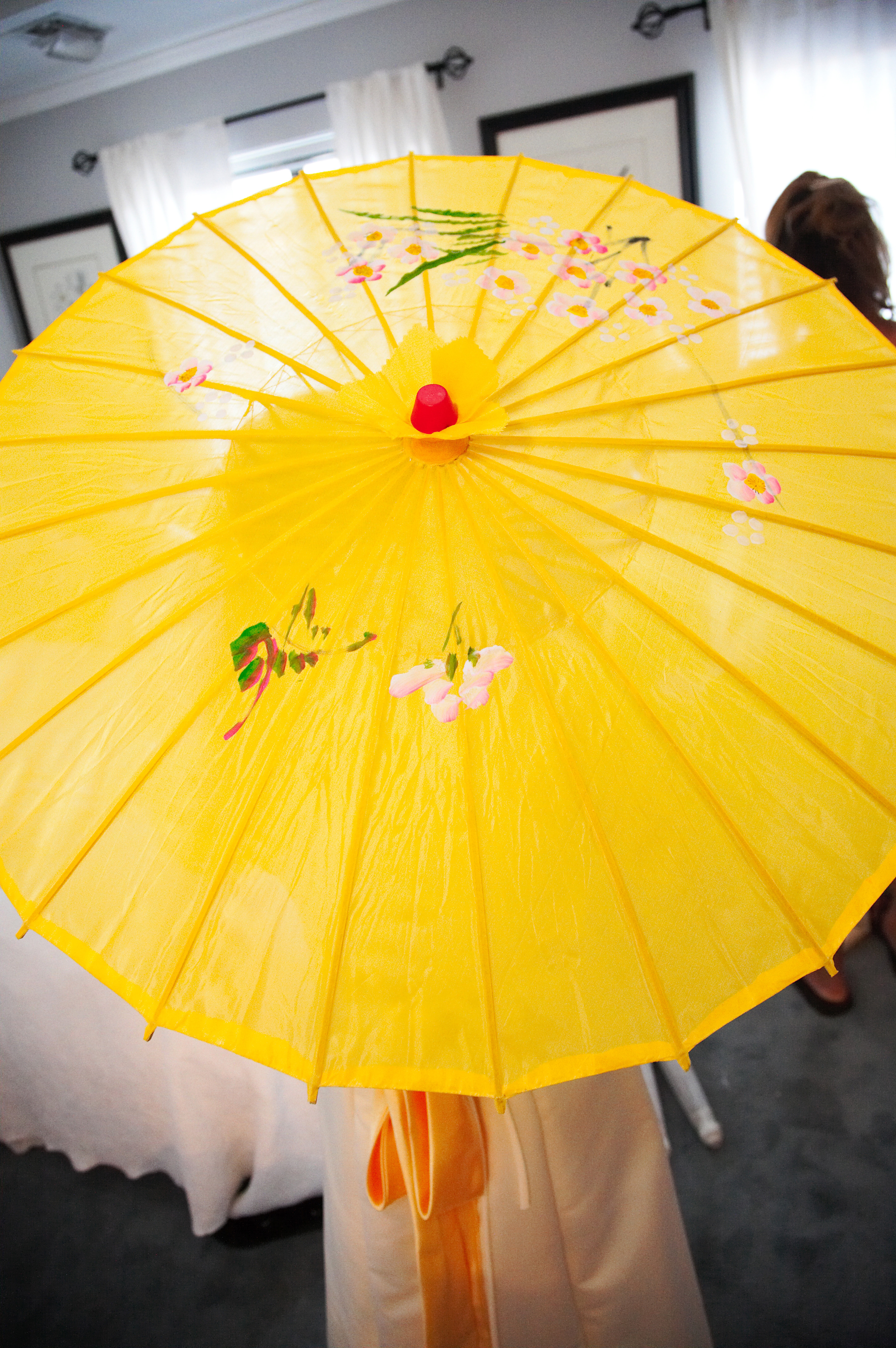 Flowers & Decor, yellow, Flower, Girl, Parasol