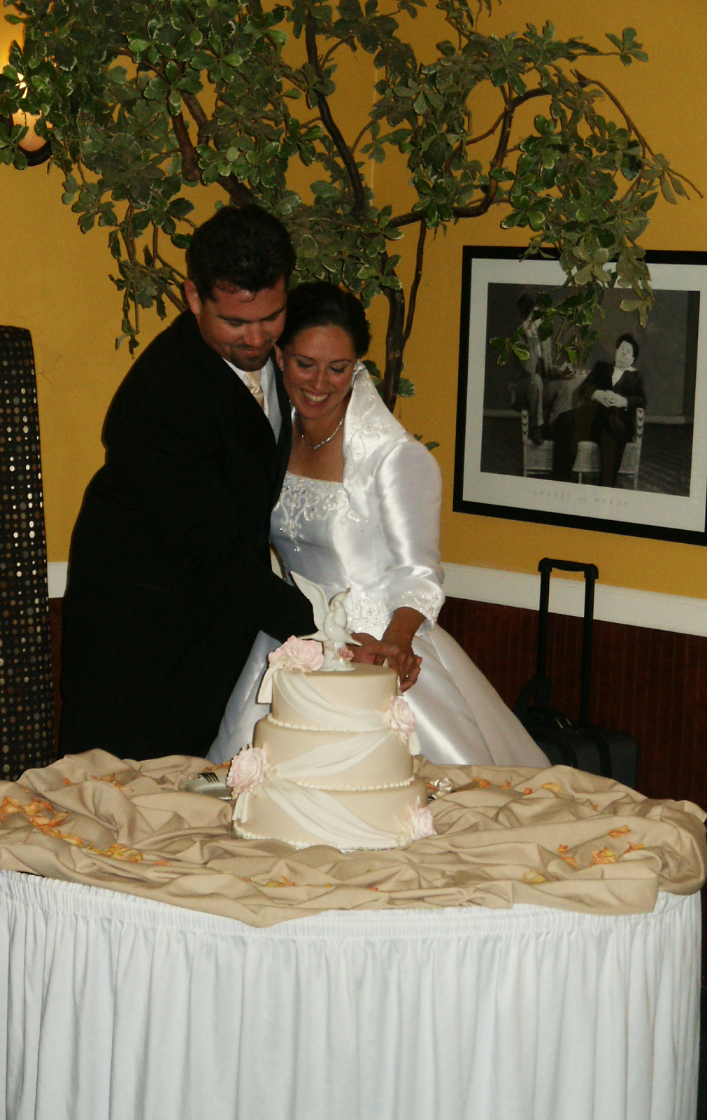 Cakes, cake, Bride, Groom