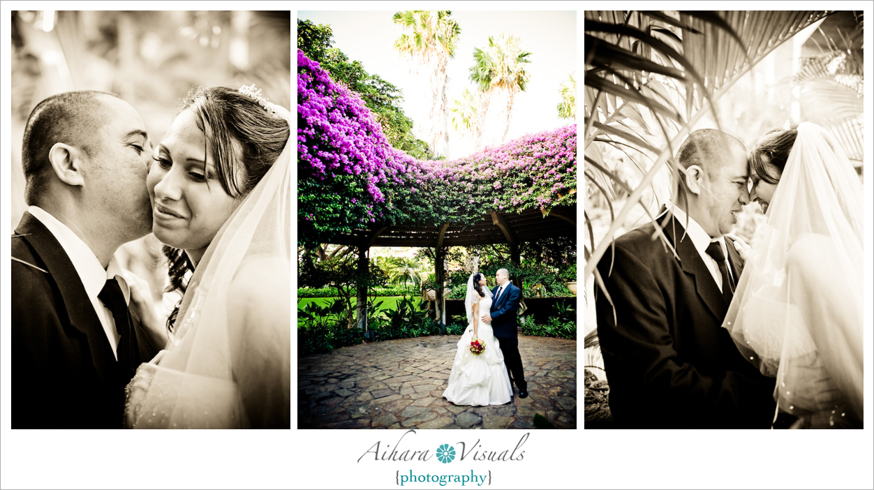 Ceremony, Flowers & Decor, Aihara visuals, Waikiki wedding, Hale koa