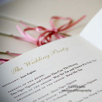 Ceremony, Flowers & Decor, Stationery, Ceremony Programs, Programs