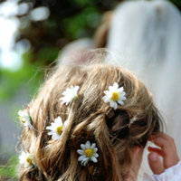 Beauty, Flowers & Decor, Flower, Girl, Hair