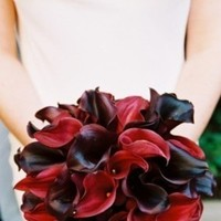 Flowers & Decor, red, black, Flowers
