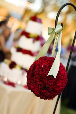 Flowers & Decor, red, Flowers, Pomander