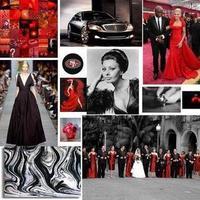 Inspiration, red, black, Board