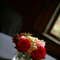 Flowers & Decor, red, Square, Flowers, Rose