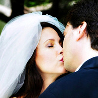 Veils, Fashion, Bride, Groom, Veil, Kiss, And