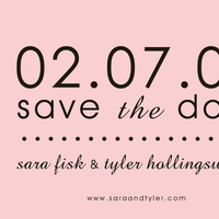 Simply, The, Save, Date, So, Card, Stylish