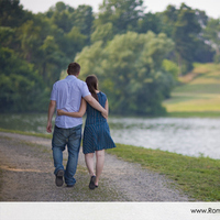 Sweet, Water, Couple, Outdoors, Engagement, Color, Park, Outside, Roman francisco, Horizontal