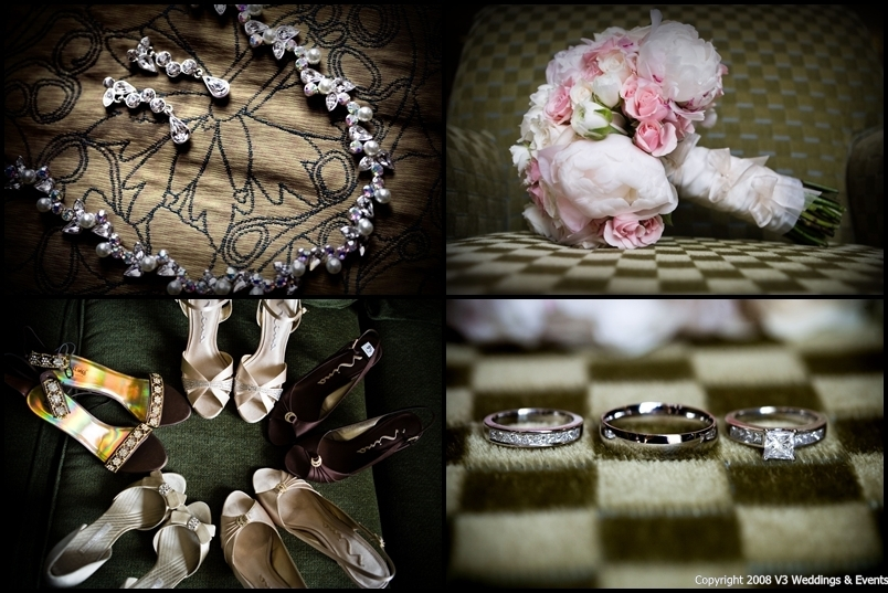 Jewelry, Shoes, Fashion, Bouquet, Rings, Bridal, Details, V3 weddings events