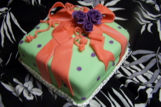 Cakes, cake, Gift, Tiffany, Box, Birthday