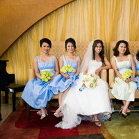 Bridesmaids, Bridesmaids Dresses, Fashion, blue, green