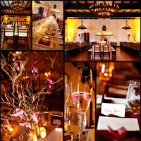Reception, Flowers & Decor, pink, Lighting, Candles, Flowers, Berry, Details