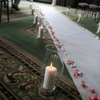 Ceremony, Flowers & Decor, Candles, Roses, Aisle, Runner, Decorations, Whimsical weddings