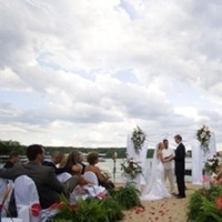 Ceremony, Flowers & Decor, Beach, Bride, Beach Wedding Flowers & Decor, Weddings, Whimsical, Whimsical weddings, Missouri