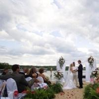 Ceremony, Flowers & Decor, Beach, Bride, Beach Wedding Flowers & Decor, Weddings, Whimsical, Whimsical weddings, Missouri
