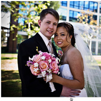 Bride, Groom, Formal, Hyatt, Cerritos