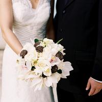 Flowers & Decor, white, pink, brown, Bride Bouquets, Flowers, Bouquet, Wedding, Art, Joy, Museum, Oh