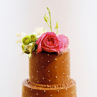 Cakes, pink, brown, cake, Wedding, Art, Joy, Museum, Oh