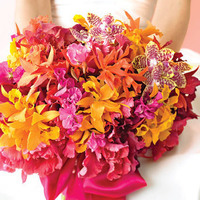 Flowers & Decor, yellow, orange, pink, Flowers, Bouquets