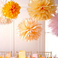 Reception, Flowers & Decor, yellow, orange, Decoration