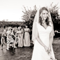 Brides, Fun, Toss, Candid, Maids, Bouqet, Kevin lozaw photography
