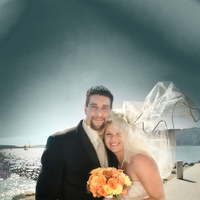 Bride, Groom, Portrait, Gate, Water, Golden, Bridge, Tiburon, Wind, Kevin lozaw photography, Blown