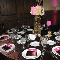Reception, Flowers & Decor, orange, pink, brown, Centerpieces, Modern, Flowers, Modern Wedding Flowers & Decor, Centerpiece