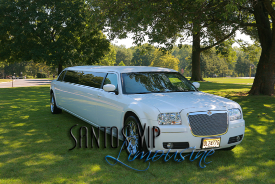 Wedding, Limo, For, Nj, Chrysler, 300, Your, Santos vip limousine service
