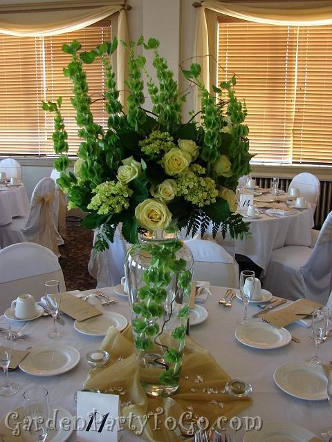 Flowers & Decor, green, Centerpieces, Flowers, Centerpiece, Tall, Gardenpartytogocom