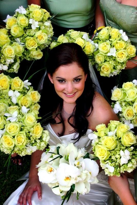 Flowers & Decor, green, Flowers, Bouquets