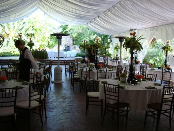 Reception, Flowers & Decor, white, orange, green, black