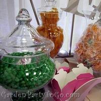 Favors & Gifts, orange, pink, green, favor, Favors, Candy buffet, Wedding favors, candy bar, Gardenpartytogocom