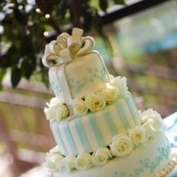 Cakes, cake, Bride, Weddings, Aqua, Whimsical, Whimsical weddings