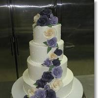 Cakes, cake, Floral Wedding Cakes, Wedding, Simon lee bakery