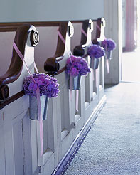 Ceremony, Flowers & Decor, Decor, Pew