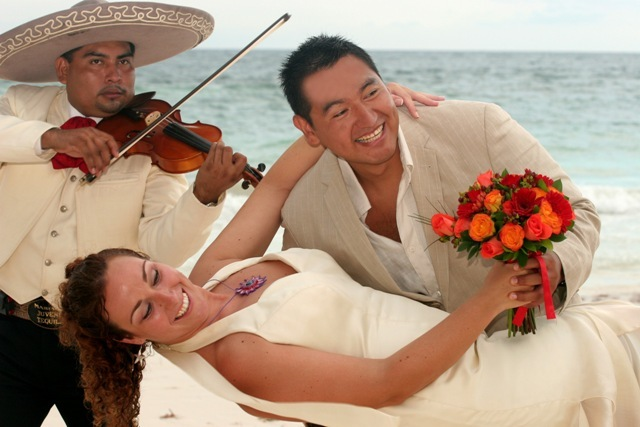 Beach, Wedding, Mariachi, Trio, Weddings riviera maya, Tulum
