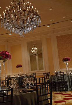 Reception, Flowers & Decor, Ballroom, The stanford court